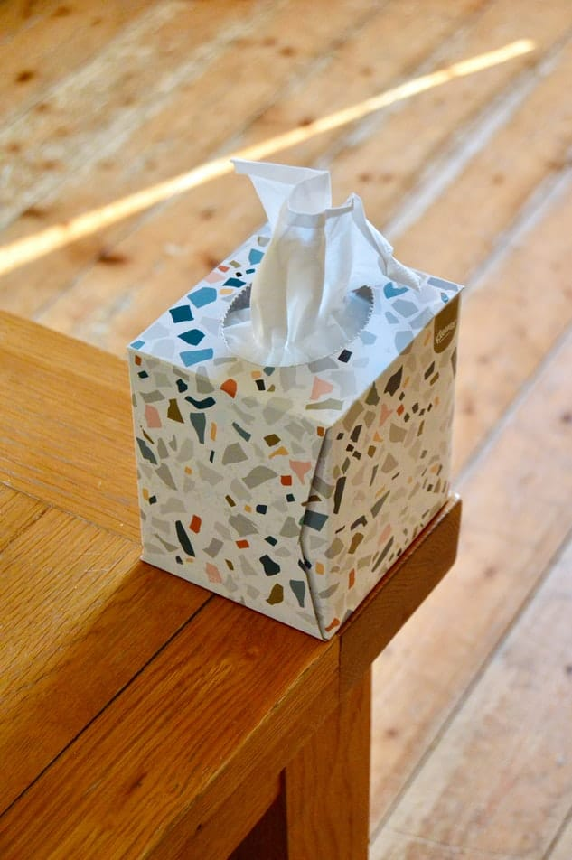A box of tissues.
